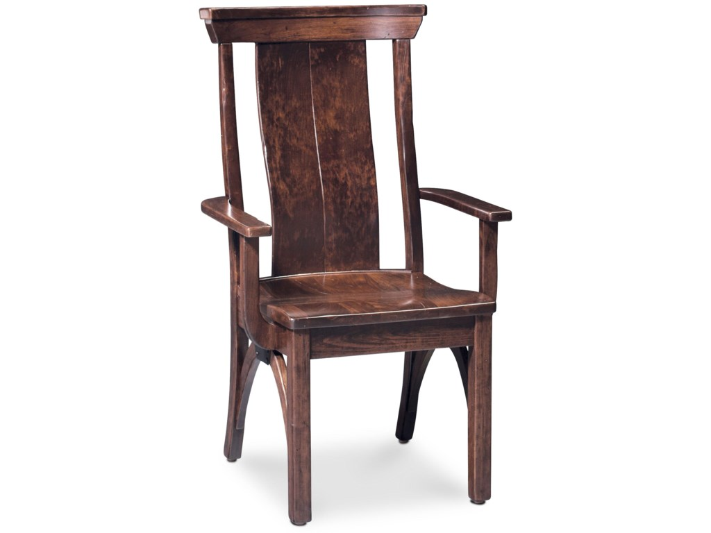 Simply Amish B and O RailroadTrestle Bridge Arm Chair