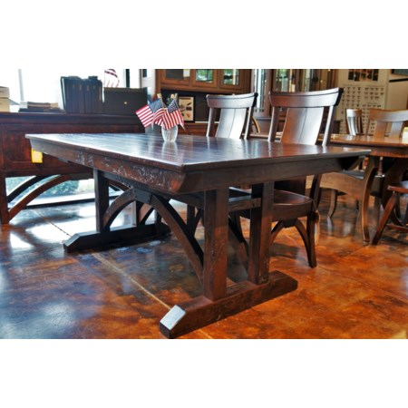 Trestle Bridge Trestle Table