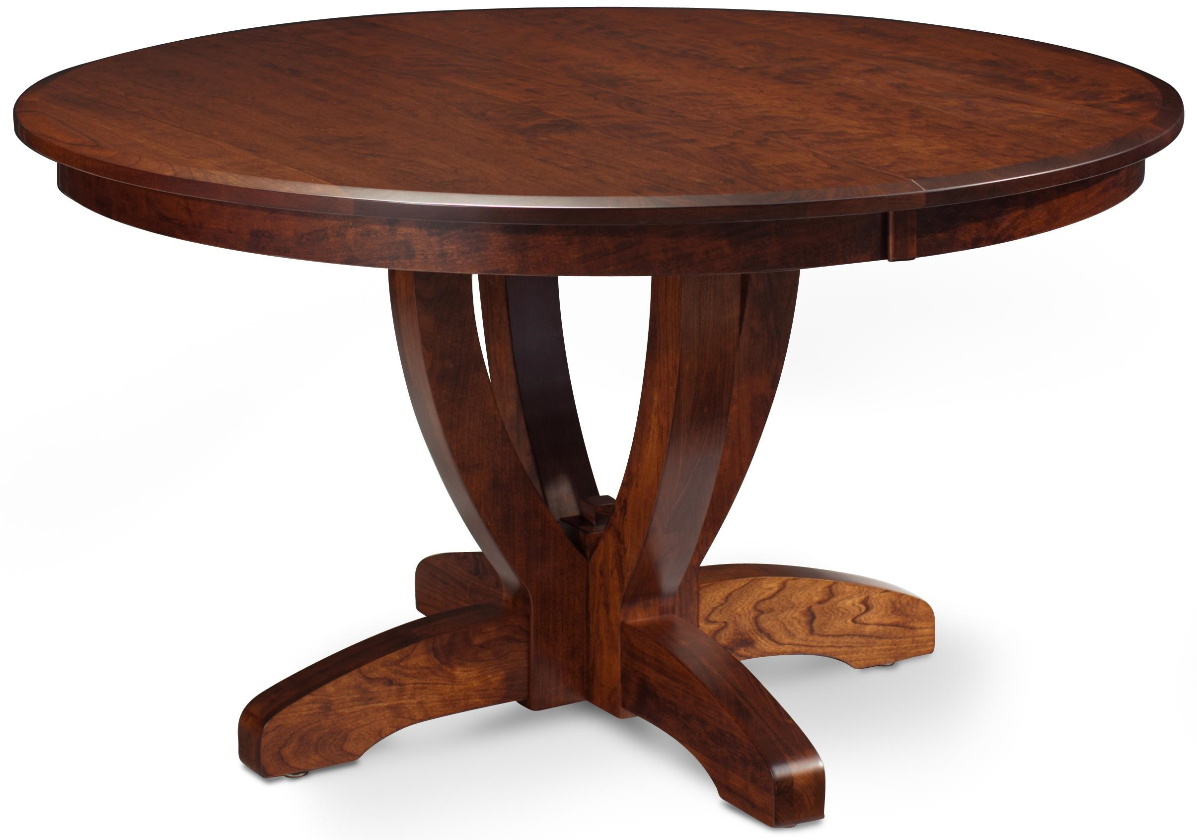 Simply Amish BrookfieldSingle Pedestal Table