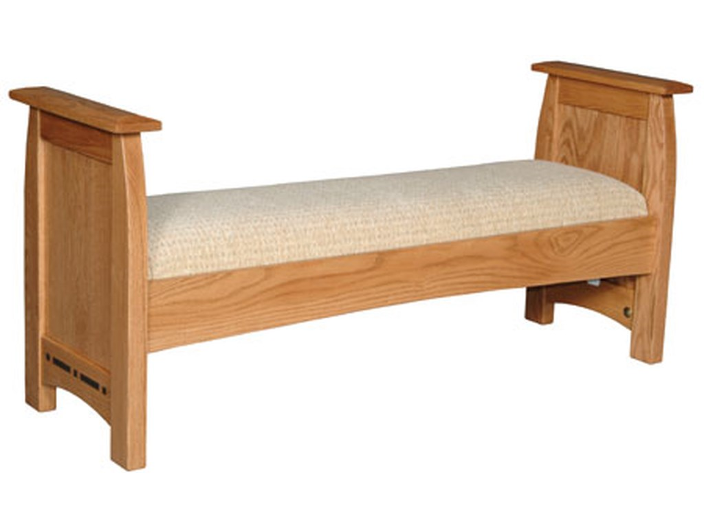 Simply Amish AspenSanta Fe Bench