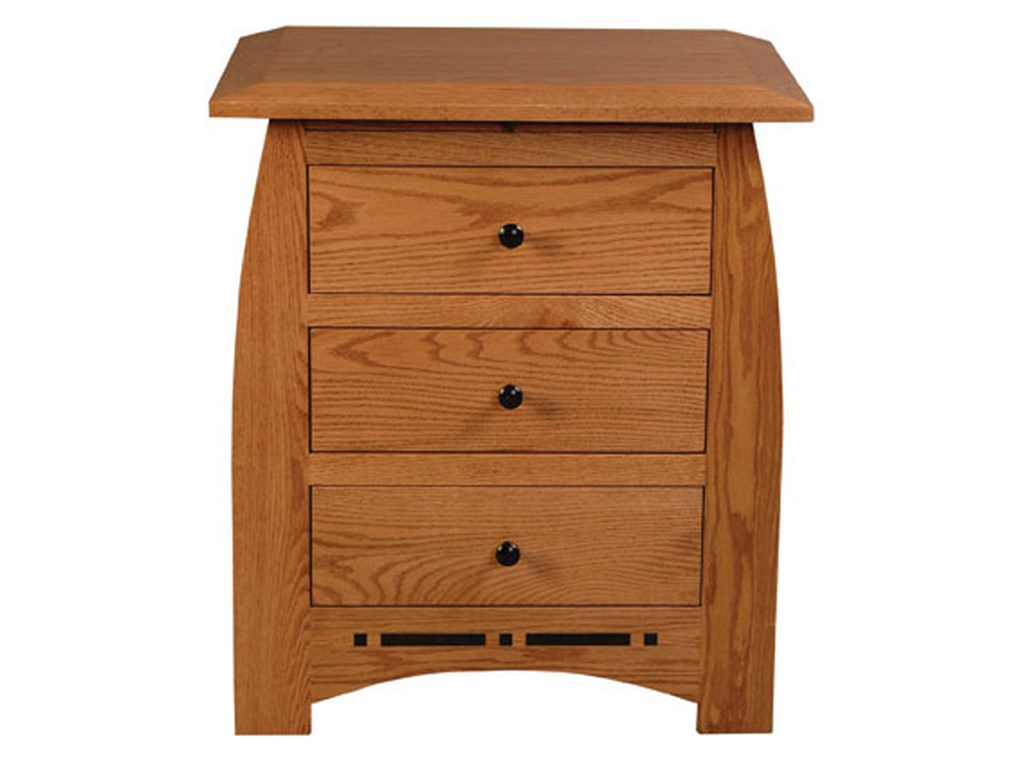 Simply Amish AspenBedside Chest