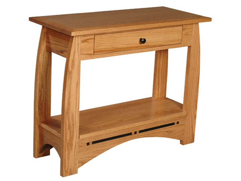 Simply Amish AspenDrawer Console Table