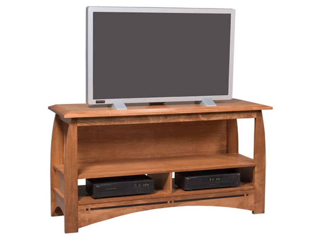 Simply Amish AspenOpen TV Stand