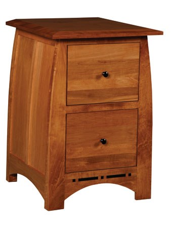 Simply Amish Aspen2 Drawer File Cabinet
