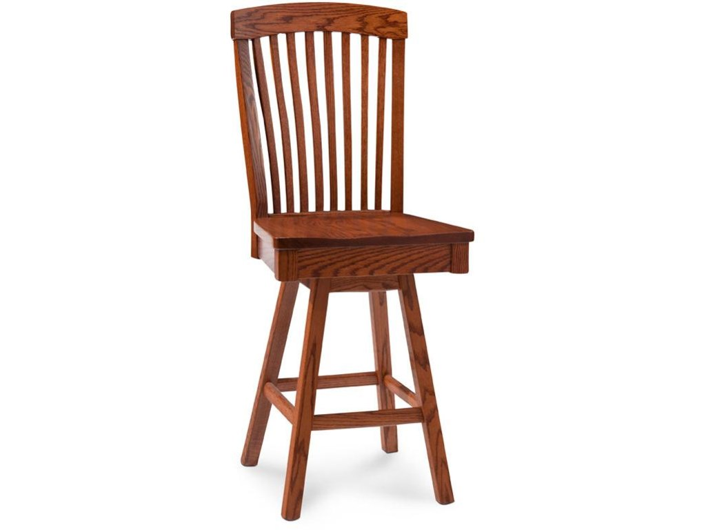 Simply Amish JustineBarstool with Swivel