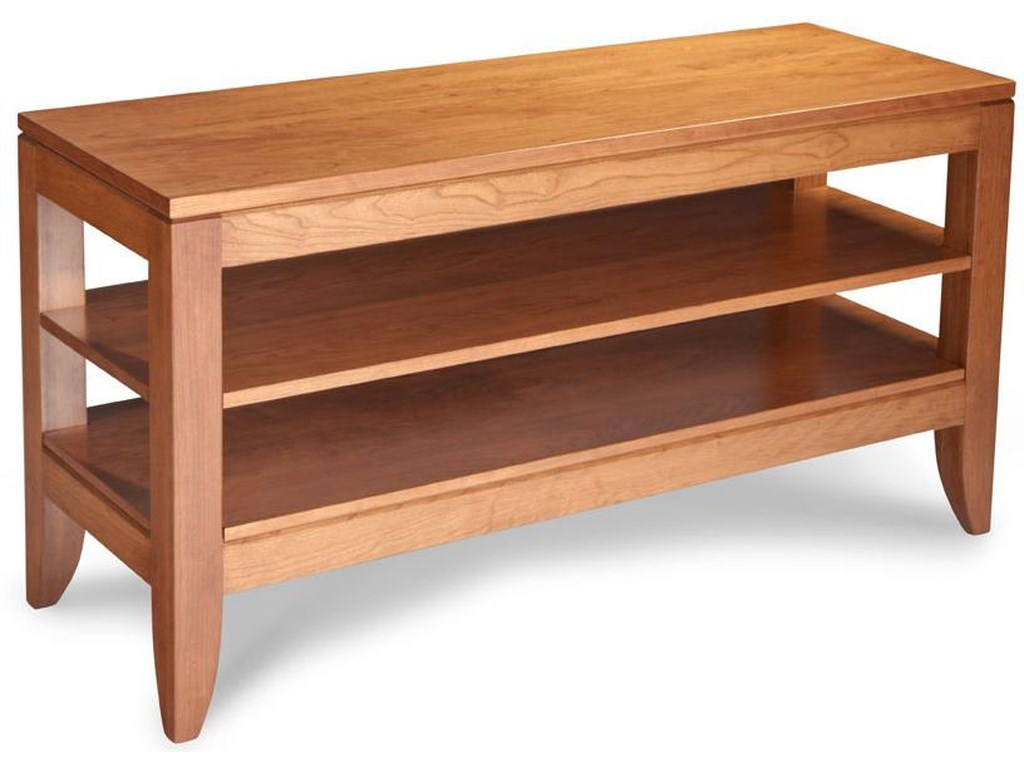 Simply Amish JustineOpen TV Stand
