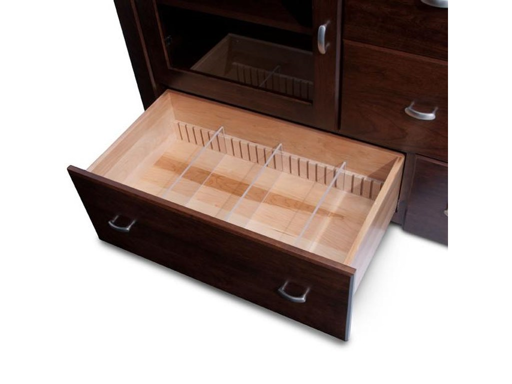 Simply Amish JustineLarge TV Stand