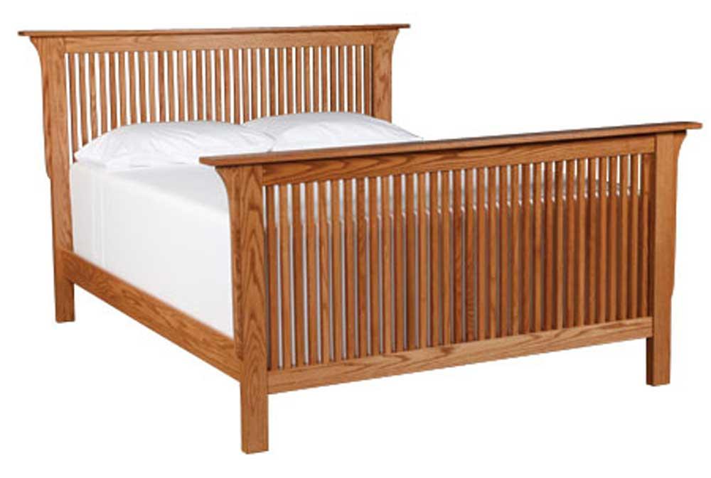 King Prairie Mission Bed
