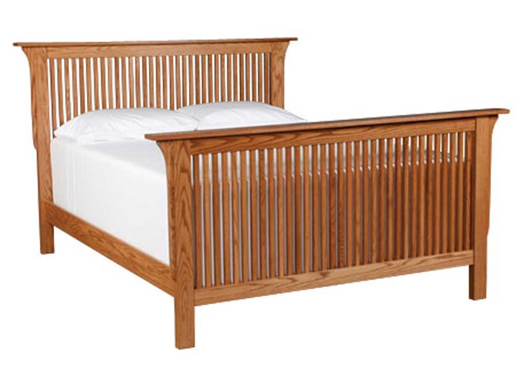 Simply Amish Prairie MissionKing Prairie Mission Bed