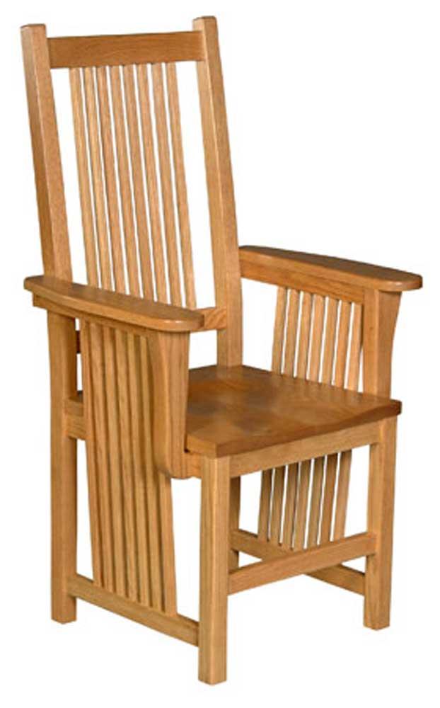 Prairie Mission Prairie Mission Arm Chair By Simply Amish