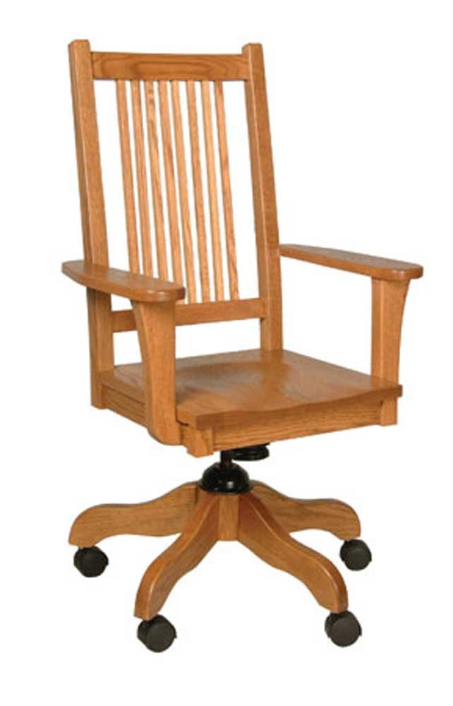 Simply Amish Prairie Mission Desk Chair