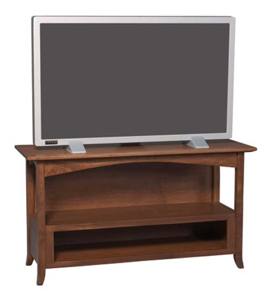 Simply Amish Shaker Amish Shaker Hill Small Tv Stand Becker