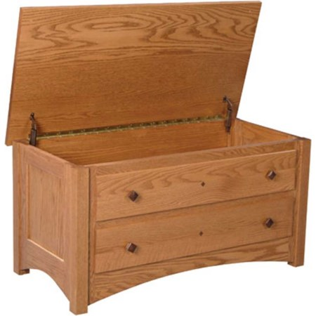 Blanket Chest with False Fronts