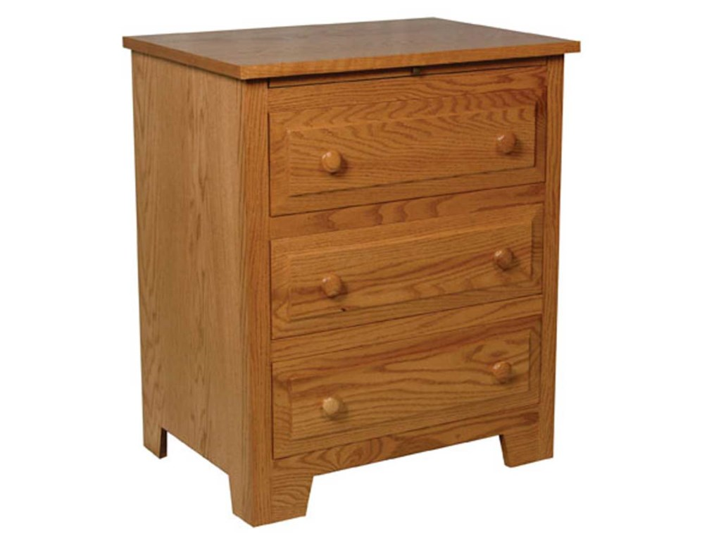 Simply Amish Homestead AmishDeluxe Bedside Chest