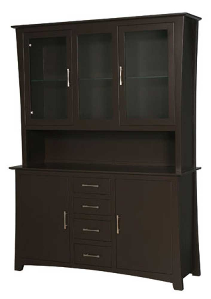 Simply Amish Curio Cabinet Cabinets Matttroy