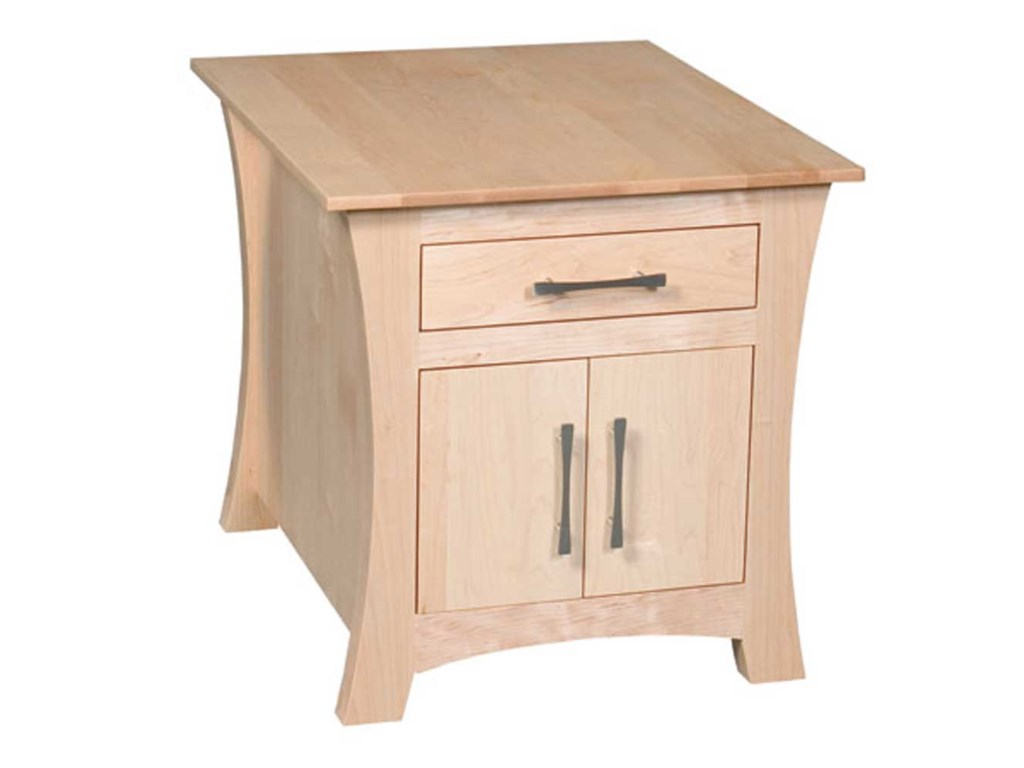 Loft Cabinet End Table By Simply Amish