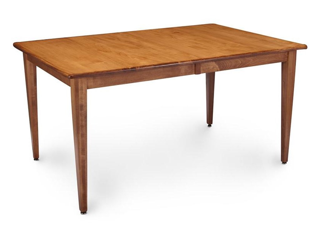 Shenandoah Counter Height Leg Table by Simply Amish at Becker Furniture  World