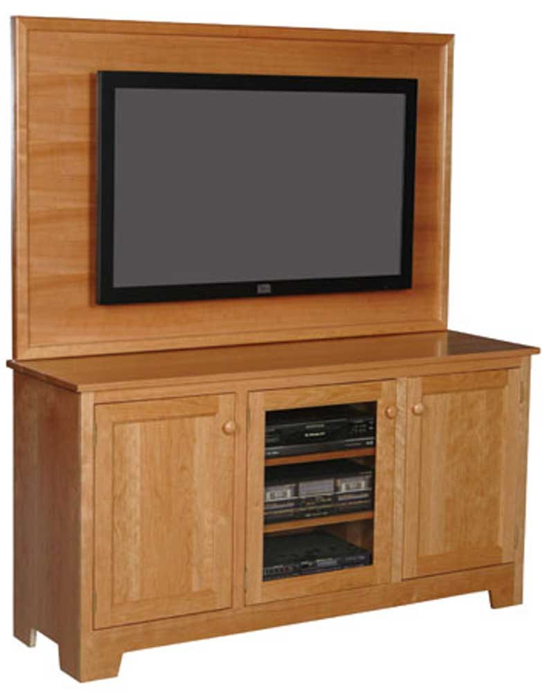 Simply Amish Shaker Amish Shaker Plasma Back Tv Stand Becker