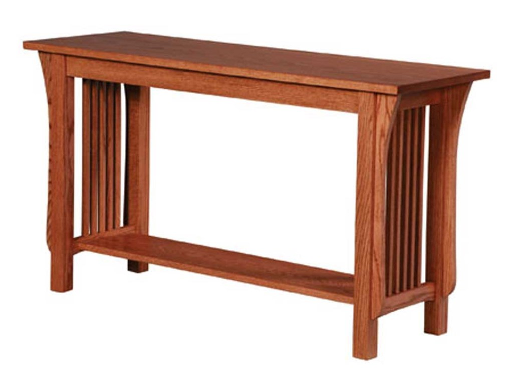 Simply Amish Prairie Missionsofa Table