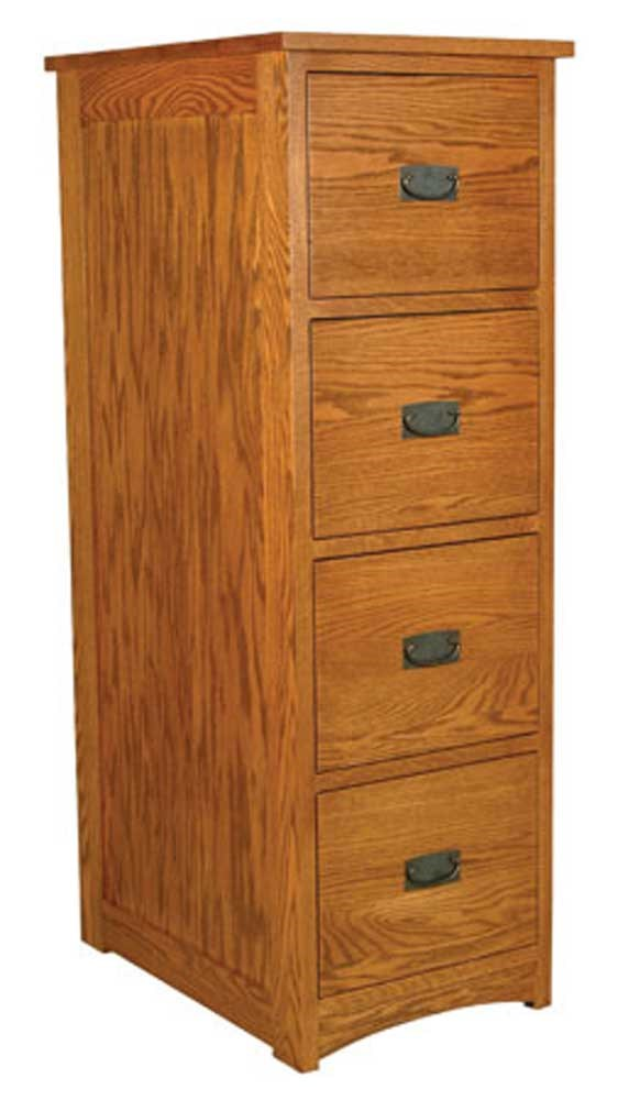 Superbe Simply Amish Prairie Mission4 Drawer File Cabinet