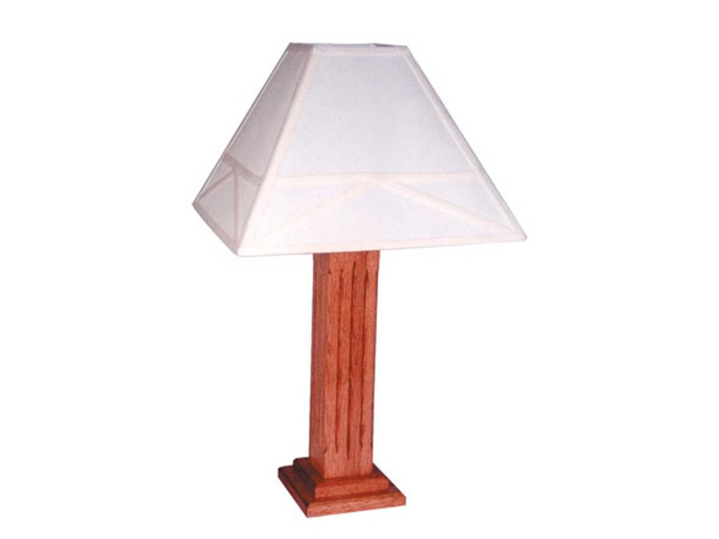 Simply Amish Mission AmishLamp with Shade