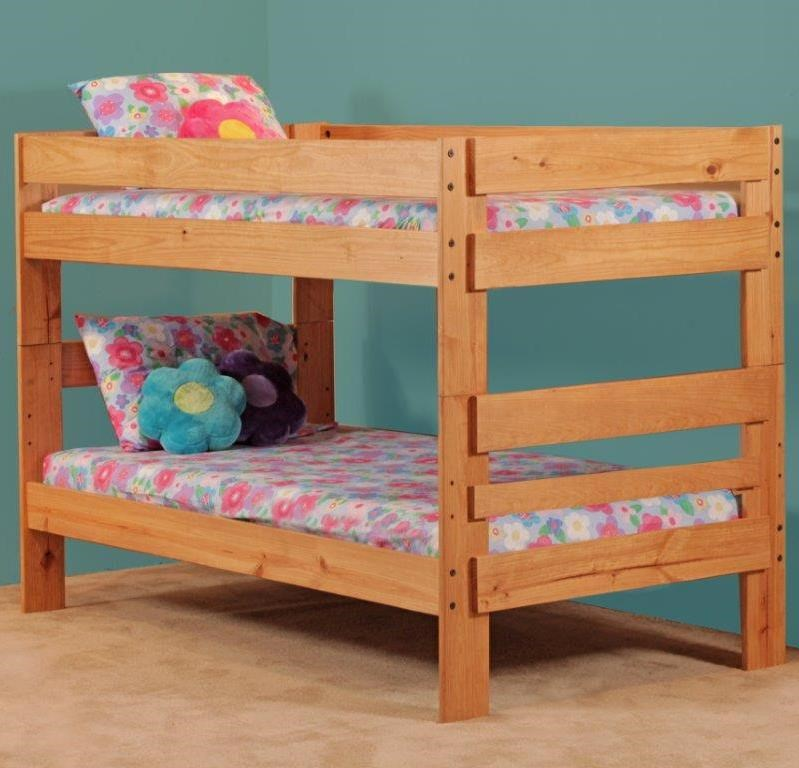 Simply Bunk Beds 702 Twin Over Bed