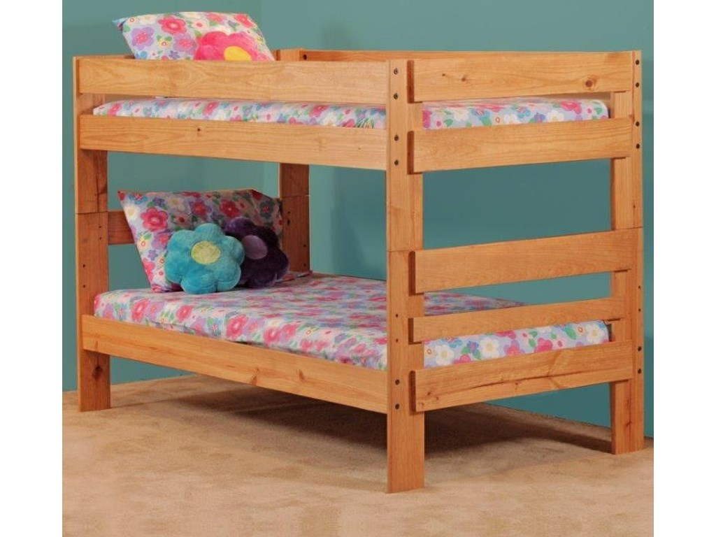 Simply Bunk Beds 702 Twin over Twin Bunk Bed | Royal Furniture ...