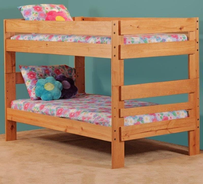 Simply Bunk Beds 702Twin Bunk Bed