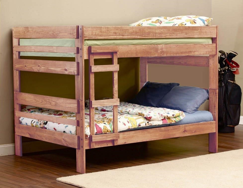 Simply Bunk Beds 707 Full Over Full Bunk Bed Royal Furniture
