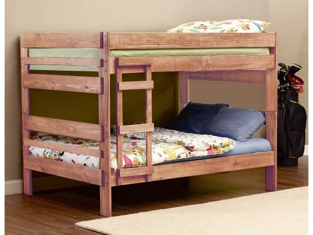 Simply Bunk Beds 707Full over Full Bunk Bed