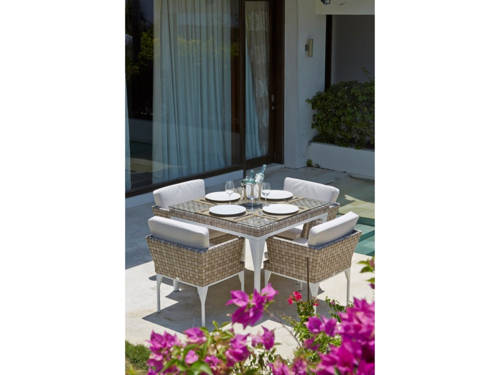 Skyline Design BRAFTASquare Outdoor Dining Table