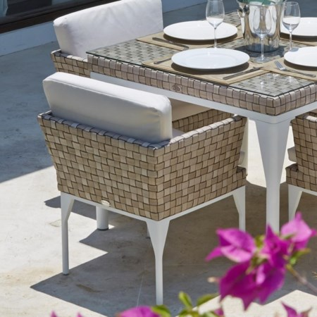 Outdoor Dining Armchair