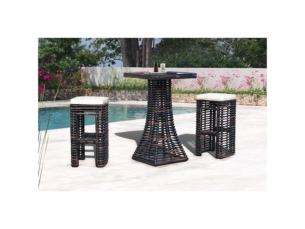 Skyline Design DynastyBackless Barstool