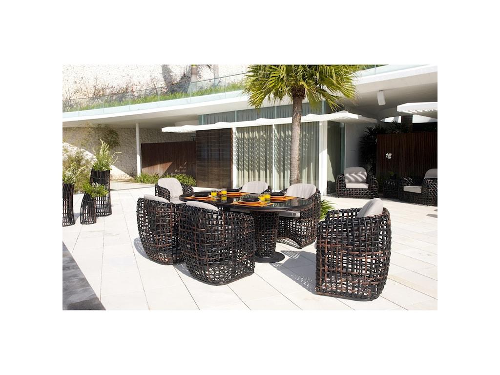 Skyline Design DynastyOutdoor Dining Chair
