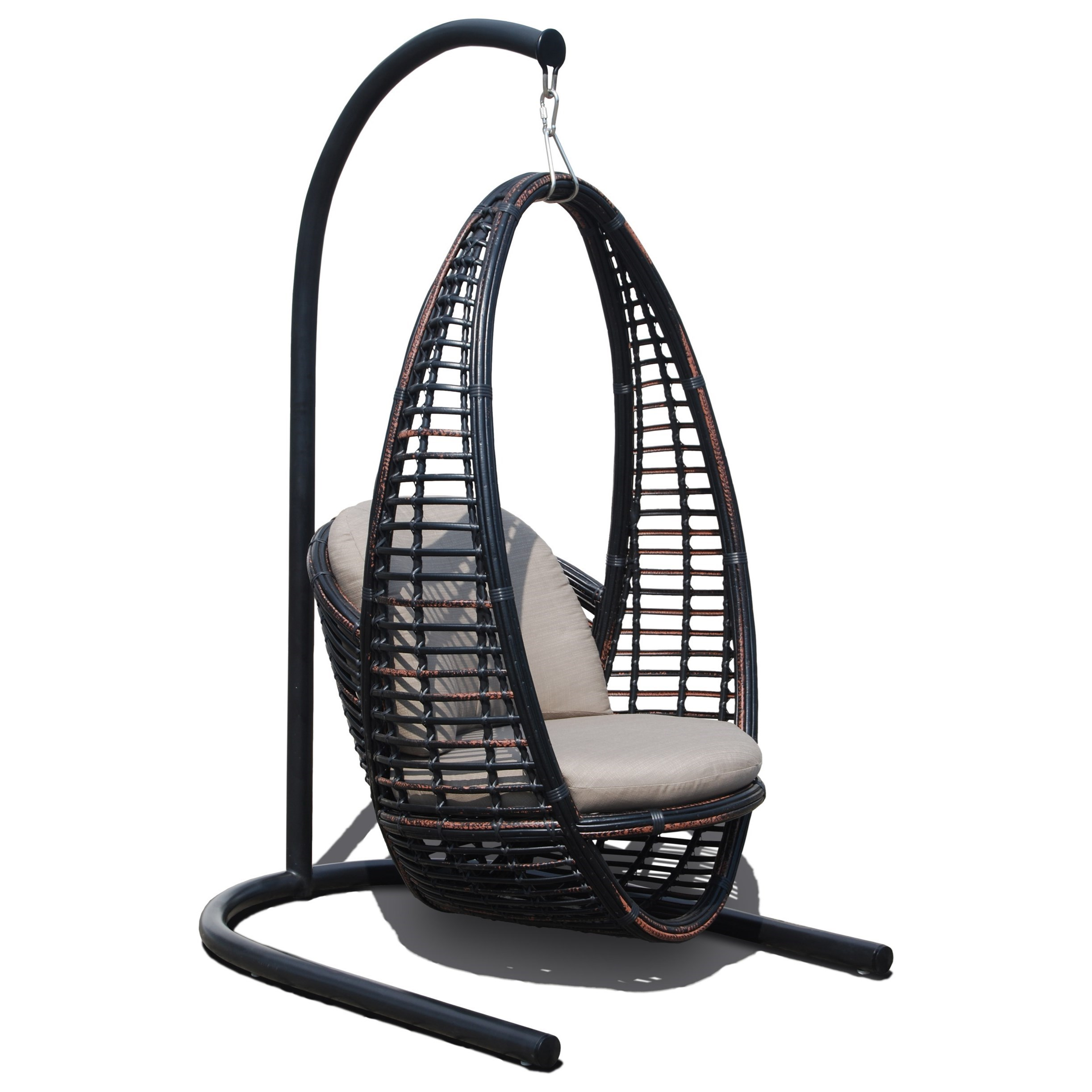 Heri Outdoor Hanging Chair With Cushion By Skyline Design At Baeru0027s  Furniture