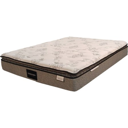 Twin Euro Pillow Top Mattress