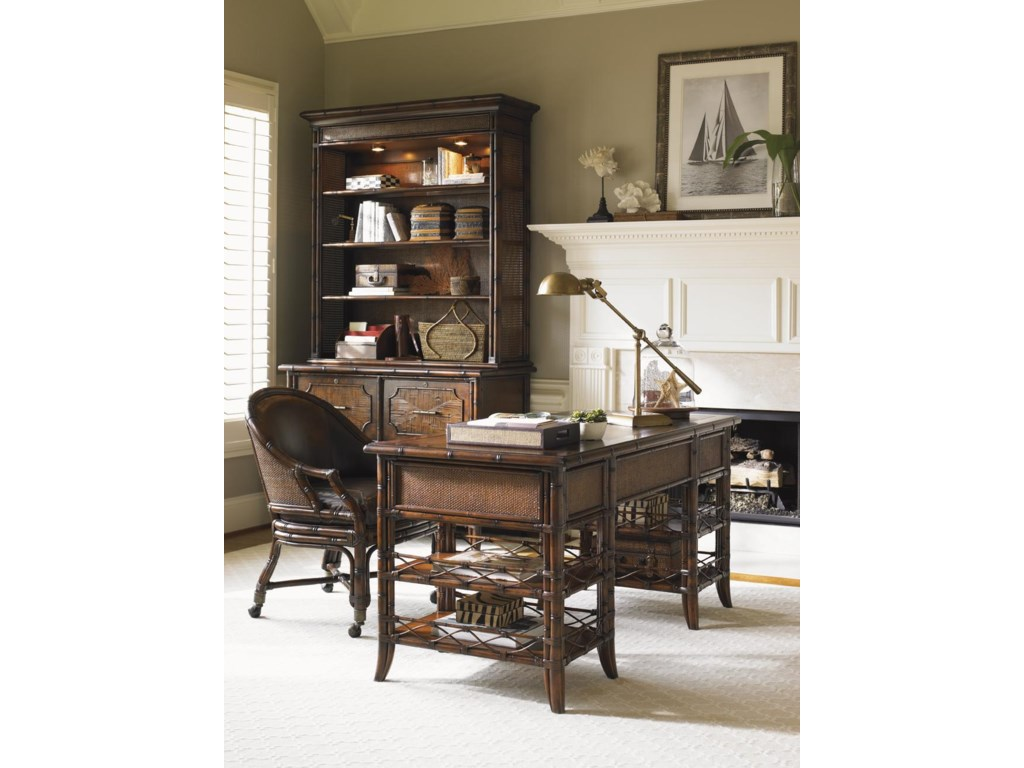 Shown with Malibu Writing Desk and Rum Runner Game/Desk Chair