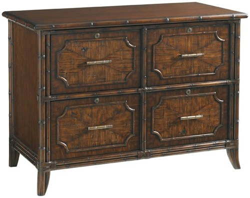 Sligh Bal Harbour 293SA 4 Drawer Laguna Beach File Chest with Locks