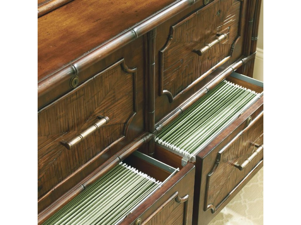 Bottom File Drawers Open