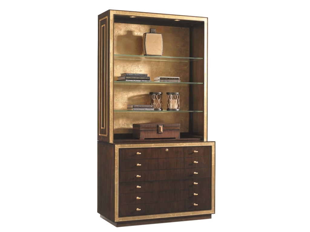Sligh Bel Airebeverly Palms Deck And File Cabinet Combo