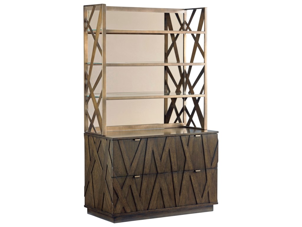 Sligh Cross EffectModern File Chest and Metal Deck