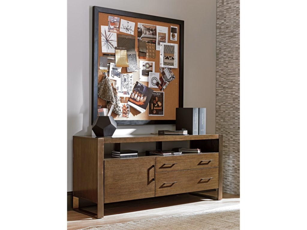 Sligh Cross EffectModern Media Console