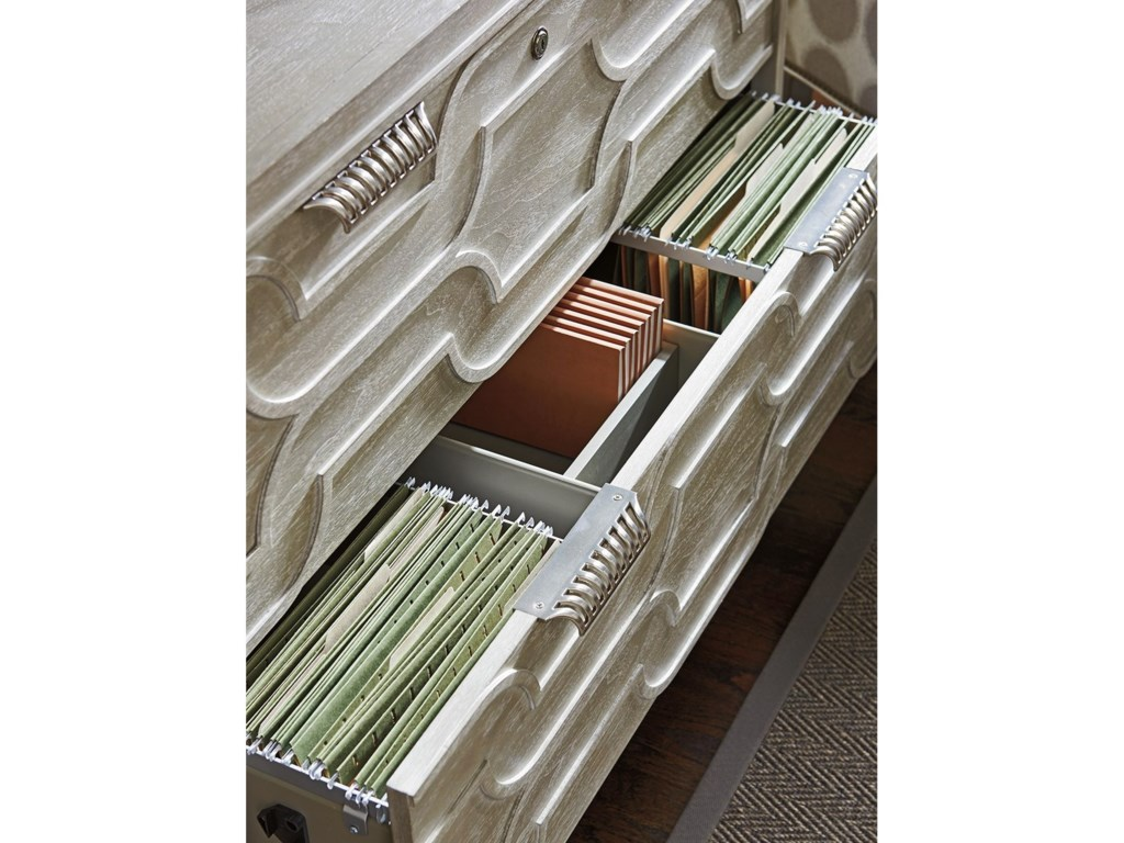 Sligh GreystoneOctavia File Chest and Deck
