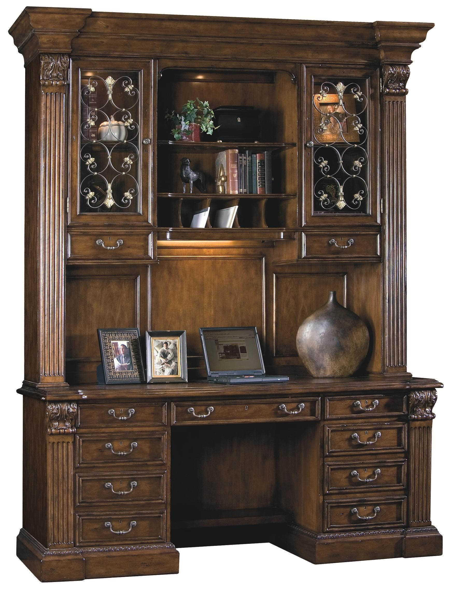 Sligh LaredoCredenza Desk With Deck ...