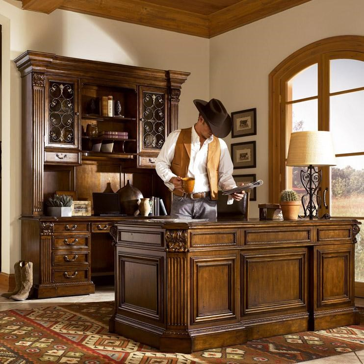 Shown with Double Pedestal Desk