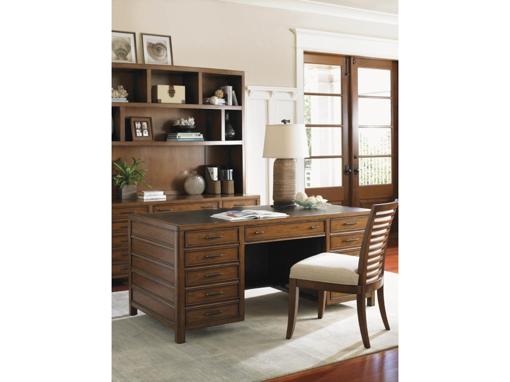 Shown with Key Biscayne Credenza, Kowloon Side Chair, and Bal Harbour Desk