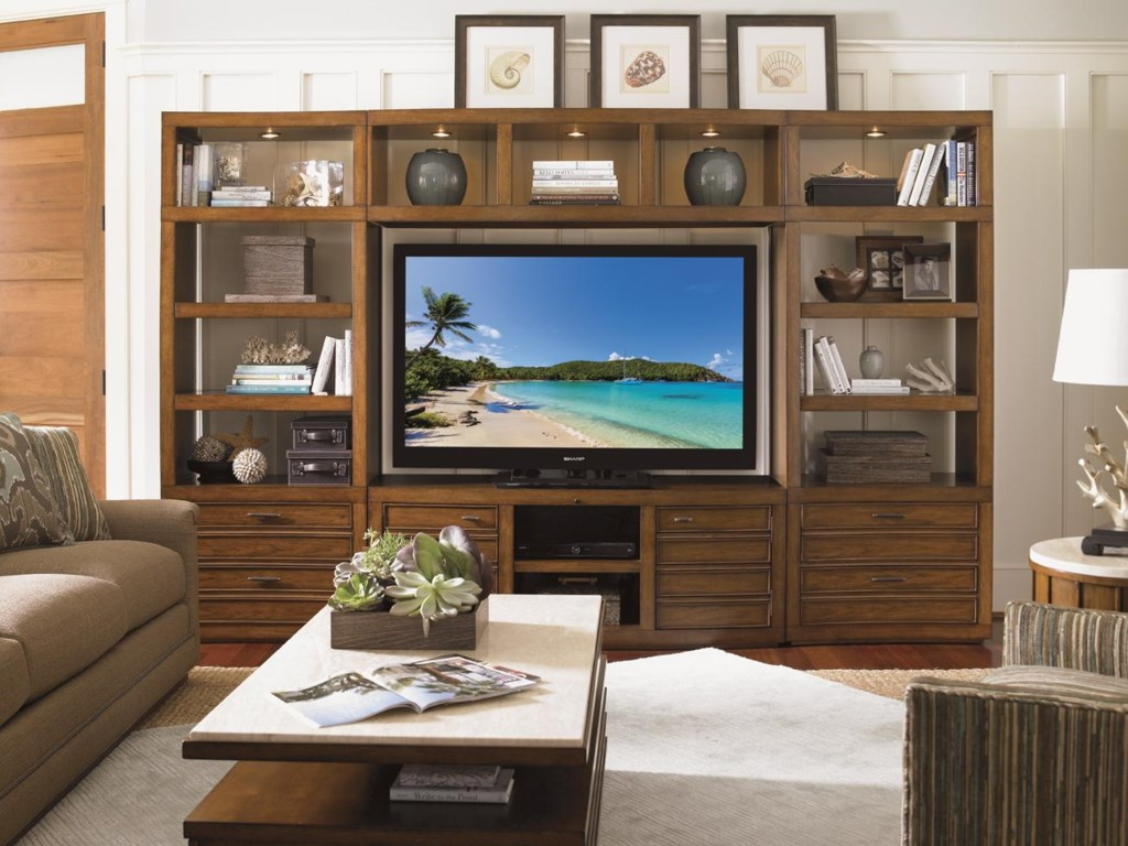 Shown with Plantation Bay Bridge and TV Console