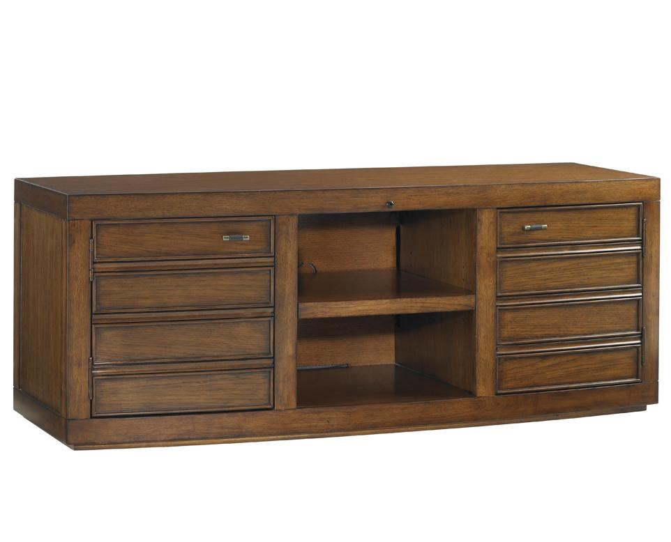 Plantation Bay TV Console with Two Doors