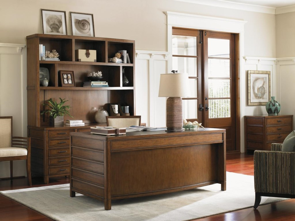 Shown with Key Biscayne Credenza & Deck, Bal Harbour Desk,and Bay Shore File Chest