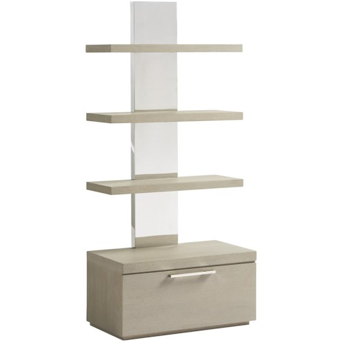 Smartstuff Axis Bookcase with Removable Bottom Shelf